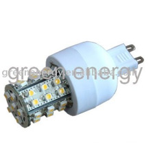 LED G9, 36 LED, SMD3528, lámpara led,