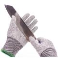 Food Grade HPPE Anti Cut Resistant Level 5 Kitchen Safety Work Gloves