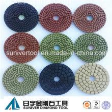 Colorful Series Premium Wet Polishing Pads Diamond