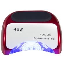 48W Dia Nail Art Phototherapielampe / Professioneller Nagel CCFL + LED