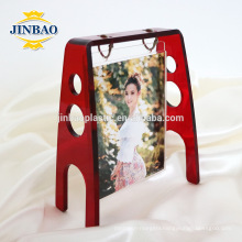 Jinbao selphy selfie acrylic fridge magnet photo frame 5mm