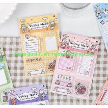 Funny Multi-Function Sticky Memo Notes with Stickers