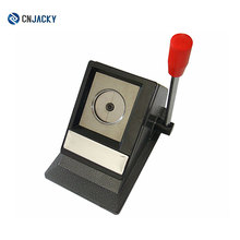 TianjinTable Stand ID Photo Cutter / 30mm Diamètre ID Photo Cutter Photo / Sissor Couper Photos à 32 * 22mm Coin Droit