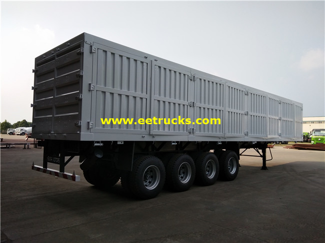 50 Ton Cargo Transport Truck Trailers
