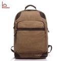 Изготовленный на заказ mens камеры холст рюкзак ноутбук сумки рюкзак