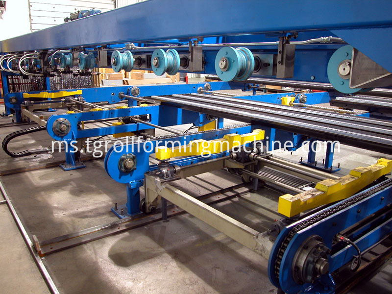 Automatic Three Waves Guardrail Roll Forming Machine