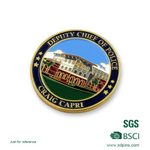 Customized Soft Enamel Police Challenge Coin