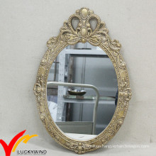 Delicate French Style Decorative Wood Wall Decoration Mirror