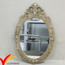 Деликатный французский стиль декоративного дерева украшения стены зеркало