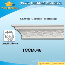 Decorative Polyurethane Frame Mouldings with High Quality