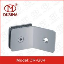 Braçadeira de vidro lateral do banheiro de 135 graus único (CR-G04)