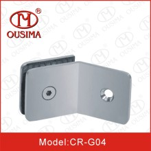 135 Degree Single Side Bathroom Glass Clamp (CR-G04)