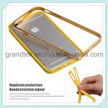Diamond Metal Bumper Smart Phone Case for iPhone6 Mobile Case