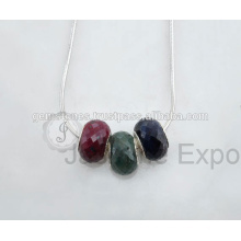 Халцедон драгоценный камень стерлингового серебра Индийский ювелирные изделия