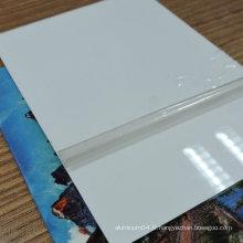 Sublimation de taille sur mesure Aluminium / Feuille d'acier