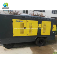 diesel mining used screw air compressor