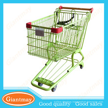 110l shopping trolley(galvanized) in cheap price