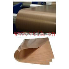 La Chine PTFE enduit le tapis de cuisine de silicone de tissu de fibre de verre non bâton avec le certificat PFOS de Rohs PFOA et de FDA à l'épaisseur différente
