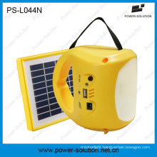 Rechargeable LED Solar Lamp with USB Mobile Phone Charger