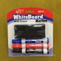 Stylo-marquage tableau blanc avec brosse 2 + 1, jeu de stylo marqueur Ecoler sec W6312