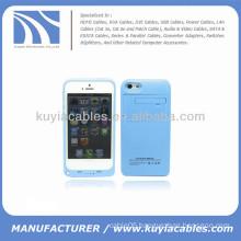 2200mAh External Battery Backup Power Case for iPhone 5c Blue