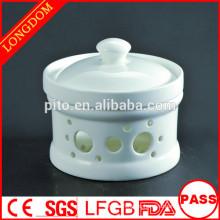 Restaurante del hotel de la alta calidad Tetera china de la sopa de la porcelana de la porcelana