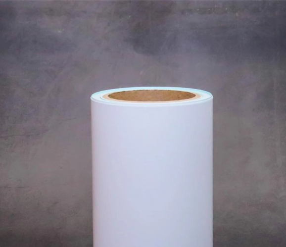 Customizable self-adhesive thermal paper with clear printing