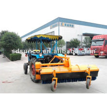 Street Sweeper on tractor