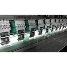 Flache Stickmaschine mit zufriedenstellender Qualität für Stoff/Stoff/Leder