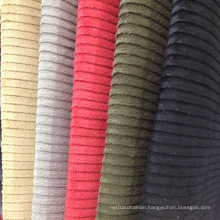 Staircase Pattern Fashion Suede Fabrics for Coat