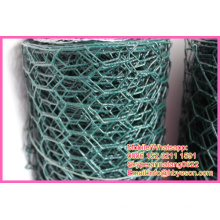 "1/2"" * 1/2"" vinyl coating galvanized hexagonal chicken wire mesh netting animal cages"