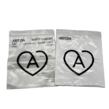 Whole Print Your Own Logo Plastic Packaging Bag For Surgical Mask Plastic Zipper Pouch Bags