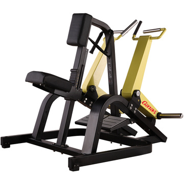 Peralatan Latihan Gym Seated Rower Free Weight