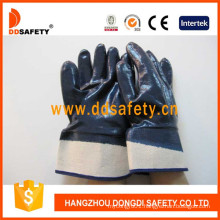 Cotton Liner Heavy Duty Nitrile Coated Gloves Dcn308