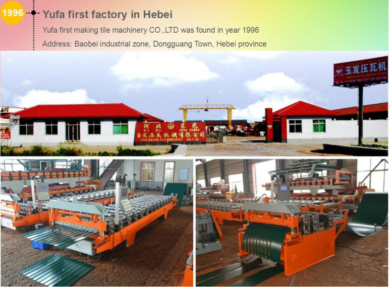 YUFA roll forming machine 1