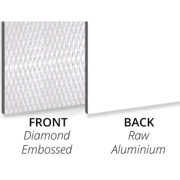 3MM Textured Diamond Embossed Decorative panels