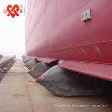 Lancement de navire en caoutchouc nautique natrual et atterrissage airbag de navire