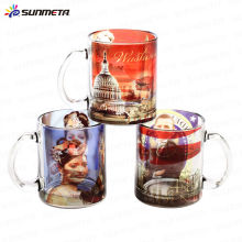 FreeSub 11OZ Sublimation Glass Beer Cup