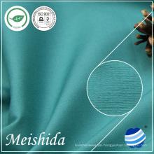 100% ringgesponnene Baumwoll-Plain solid 32 * 32/130 * 70 Stoff für Kleidungsstück Fabrik