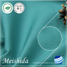 100% ring spun cotton plain solid 32*32/130*70 fabric for garments factory