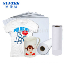 A3 A4 Roll caneca telefone capa papel sublimação a t-shirt do poliéster