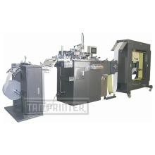 Tam-Zp Automatic 1color rollo a rollo de máquina de impresión de pantalla