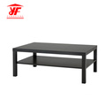 Hollowcore Black Simple Design Couchtisch