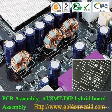 pcb & elektronik montage elektrische infrastruktur land power pcb montage