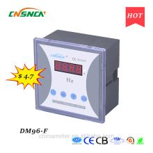 DM96-F 96 * 96mm конкурентоспособная цена Светодиодный дисплей однофазный цифровой частотомер, измерение частоты переменного тока