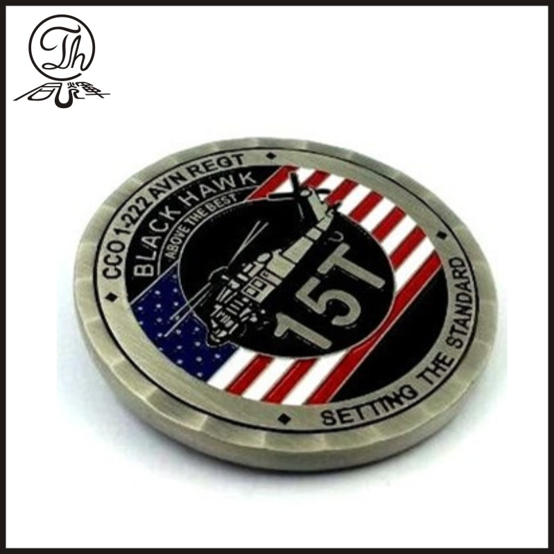 Custom military engraved coins for sale