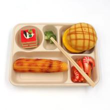 Europe Hot Sale Sugarcane Bagasse Compostable Plates For Fast Food