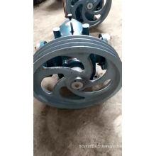 La pompe à rotor triloz. Pompe à rotor isolée par une chemise.