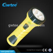 Super brilhante bateria operado mini inteligente recarregável lanterna