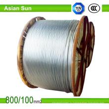 СТАЛЕАЛЮМИНИЕВЫЕ Антенный кабель Алюминиевый проводник усиленная сталь проводника acsr